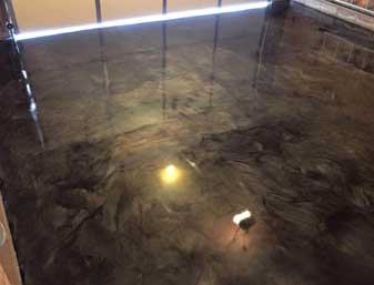 metallic epoxy garage floor - How To Epoxy Garage Floor