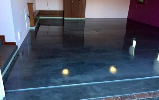 Metallic Epoxy Flooring Metallic Epoxy Garage Floor Las