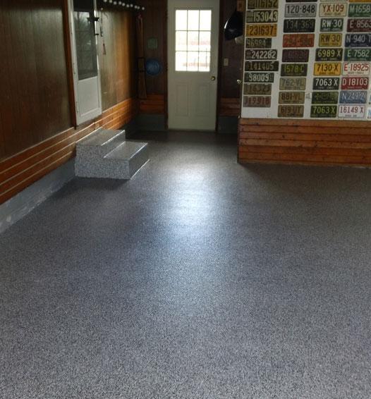 Metallic Garage Floor Carpet Vidalondon